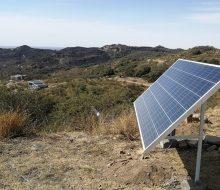 Paneles Solares para proveer de Internet
